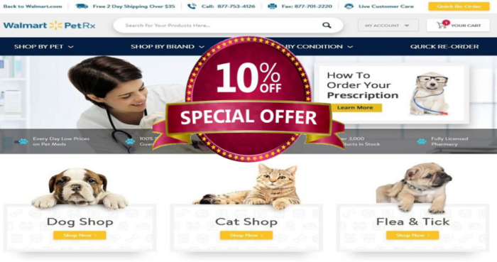 Walmart Pet Rx Promo Code Kittyexpert Com